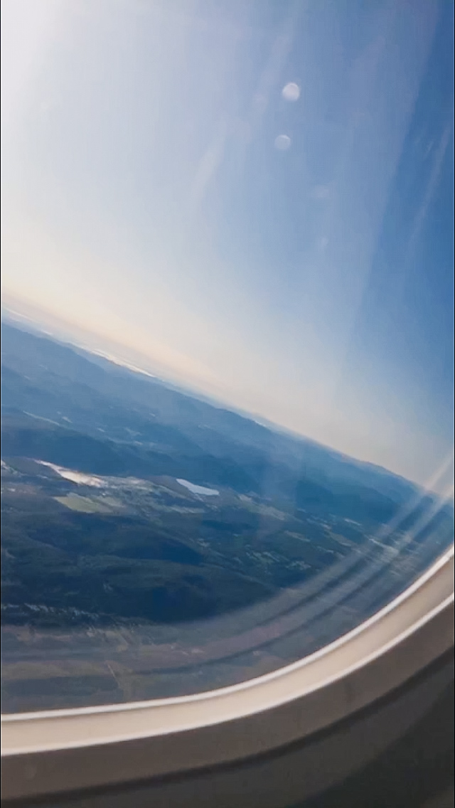 picture of plane window